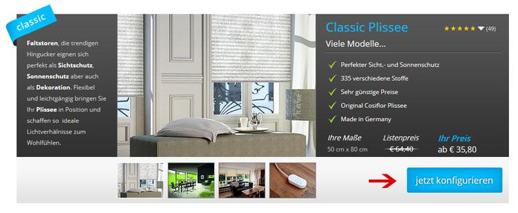 Plissee.com Onlineshop