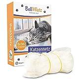 BellMietz® Katzennetz für Balkon & Fenster...