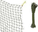 Trixie 44295 Schutznetz, drahtverstärkt, 8 × 3...