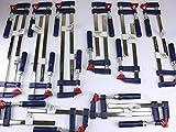 16 x Schraubzwinge Set 150x50 + 200x50 + 300x50...