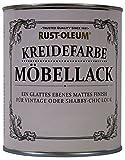 Rust Oleum Möbellack Kreidefarbe Antik Weiss Matt...