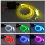 DEWEL 16W RGBW LED Faser-Licht, Sternenhimmel LED...