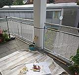 Schutznetz für Kinder & Haustiere Balkonnetz...