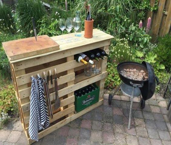 19 Ideen: Tisch Aus Holzpalette Bauen