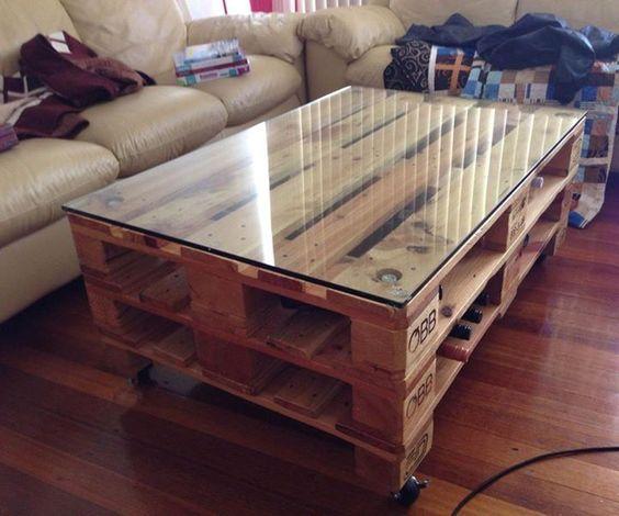 19 Ideen: Tisch aus Holzpalette bauen - Heimwerkertricks.net