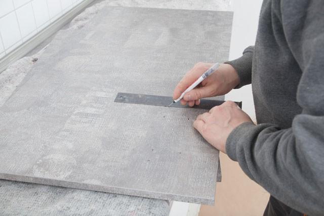 Küchenarbeitsplatte Einbauen In Schritten Zur Neuen Küche - Küchenarbeitsplatte fliesen anleitung