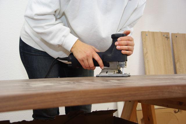 Fabulous Küchenarbeitsplatte richtig zuschneiden - Tipps & Tricks DY69