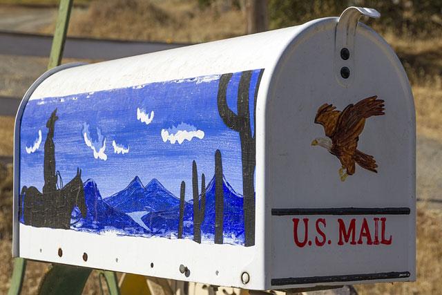 Briefkasten Mit Serviettentechnik Verschönern Schritt Für