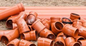 Materialien der Abwasserleitungen im Überblick