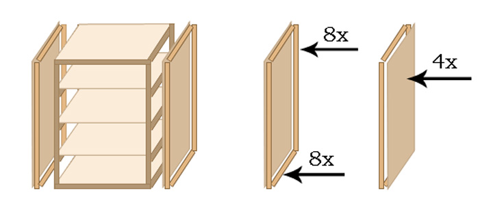 Top Begehbaren Kleiderschrank selber bauen - Schritt für Schritt BH89