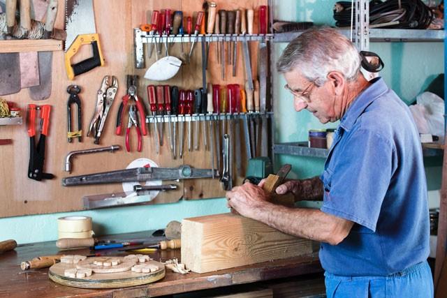 Heimwerker werkstatt einrichten was hobbybastler alles for Garage einrichten ideen
