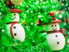 Beleuchteten Schneemann aus Acrylkugeln basteln – Schritt für Schritt Anleitung