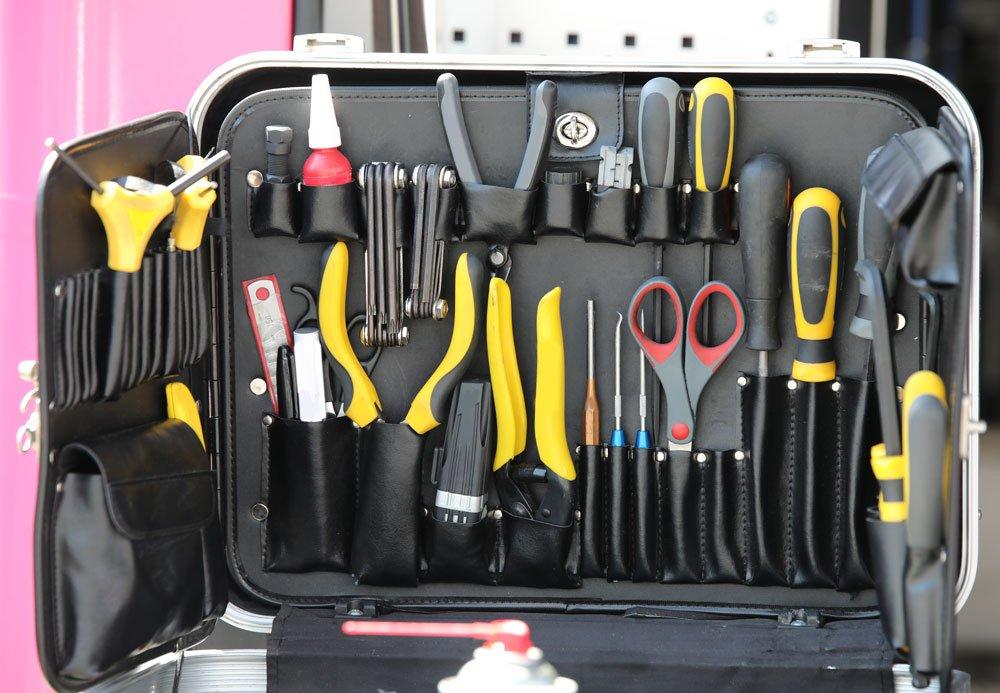Werkzeugkoffer Grundausstattung