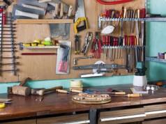 Werkzeugraum einrichten