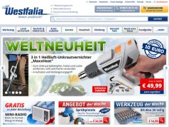 Westfalia Onlineshop im Test