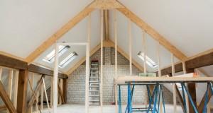 Wohnfläche im Dachgeschoss aufteilen - So einfach geht's