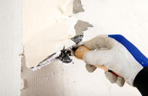 Tapeten entfernen mit Tapetenlöser oder Wasserdampf
