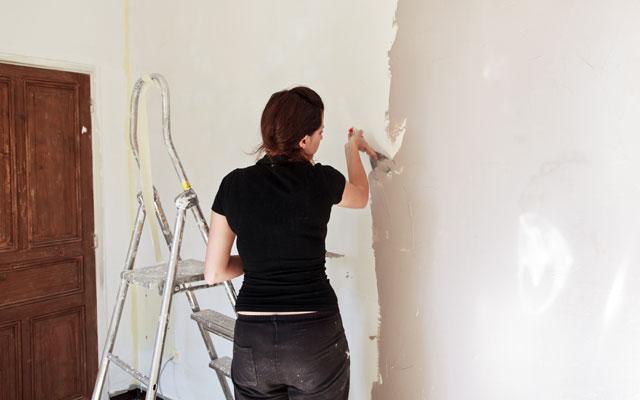 Decke Und Wände In Gleicher Farbe Streichen