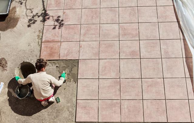 Kombiniertes Klebeverfahren Fur Die Terrasse Definition