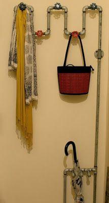 kleiderhaken selbst gemacht 17 originelle ideen f r diy wandhaken. Black Bedroom Furniture Sets. Home Design Ideas