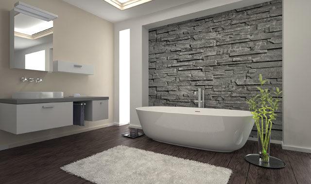 badezimmer tapezieren tipps zur tapetenauswahl und. Black Bedroom Furniture Sets. Home Design Ideas
