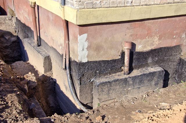 Hervorragend Keller von außen trockenlegen - Schritt für Schritt erklärt QB01