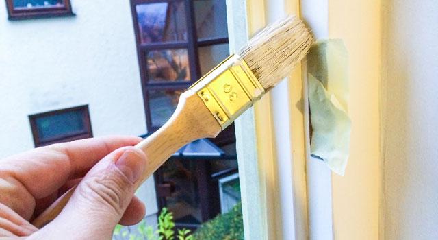 Kunststofffenster grundieren