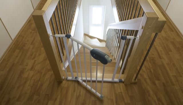 Treppengitter Kindersicherung