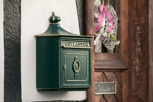 Briefkasten abringen Regeln