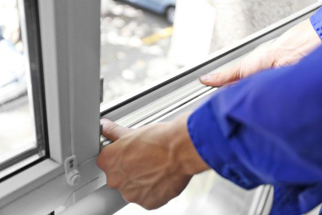 Klettband Fenster
