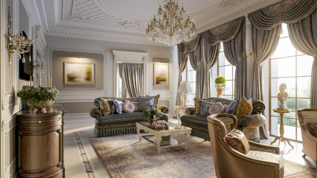 Wohnung glamourös einrichten