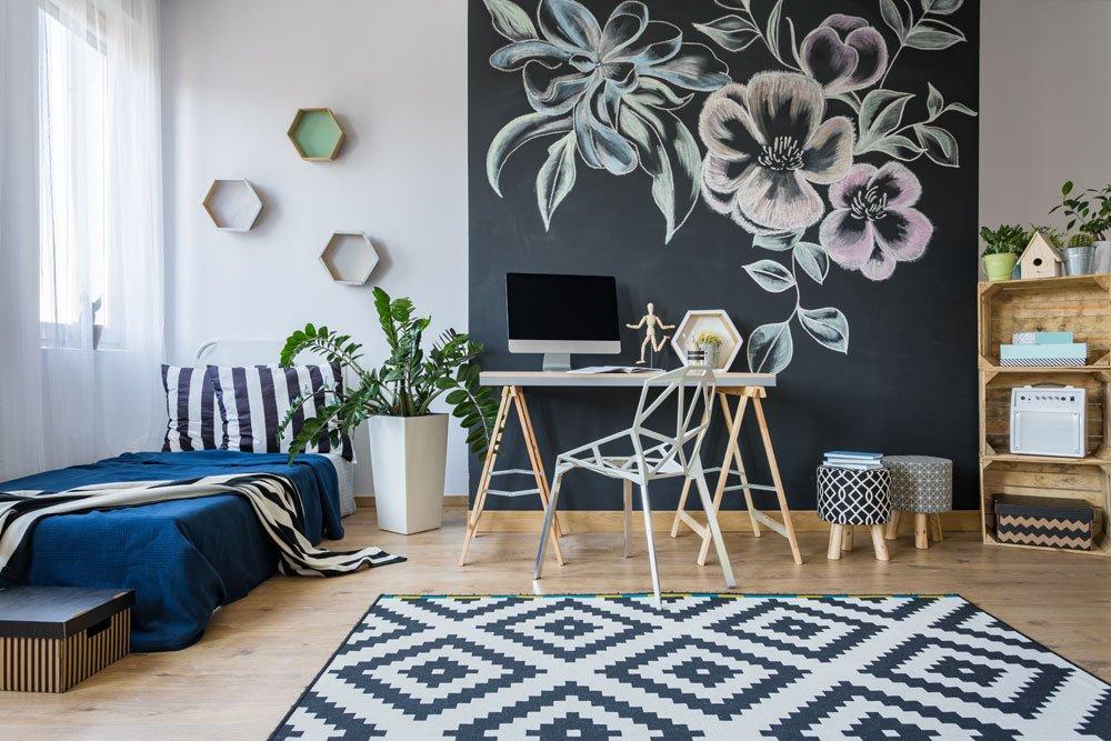 1 zimmer wohnung platzsparend einrichten 5 kreative einrichtungsideen. Black Bedroom Furniture Sets. Home Design Ideas
