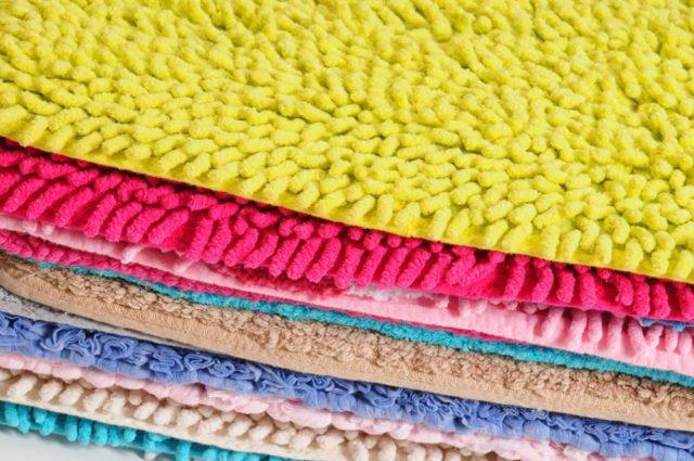 Teppich färben