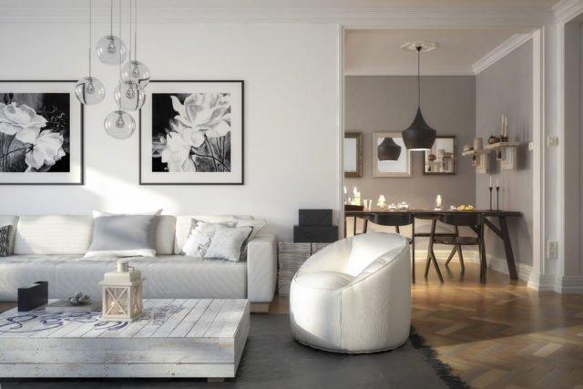 mit bildern w nde gestalten tipps zur motivwahl und anordnung der rahmen. Black Bedroom Furniture Sets. Home Design Ideas