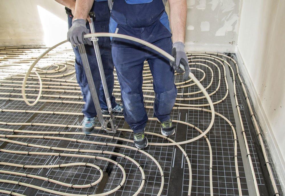 Gut bekannt Fußbodenheizung verlegen - alle Systeme auf einen Blick + MG11