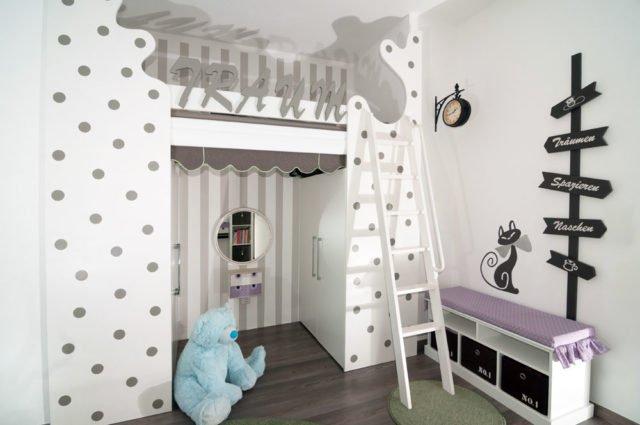 hochbett selber bauen materialliste und anleitung. Black Bedroom Furniture Sets. Home Design Ideas