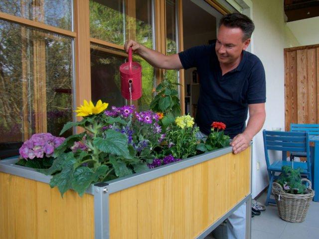 Hochbeet Fur Den Balkon Selber Bauen Anleitung Und Tipps