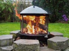 Feuerstelle aus Pflastersteinen bauen - Standort, Materialien und Bauanleitung
