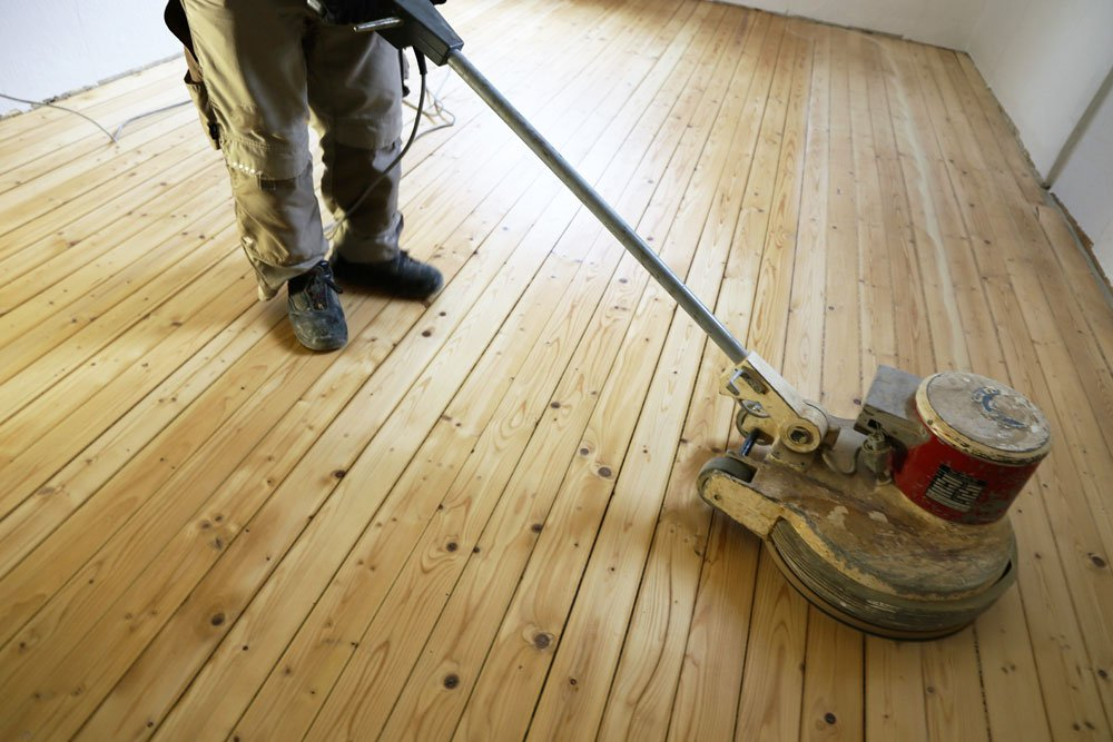 Holzboden Abschleifen Und Restaurieren