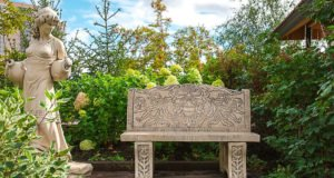 Gartenbank aus Beton bauen