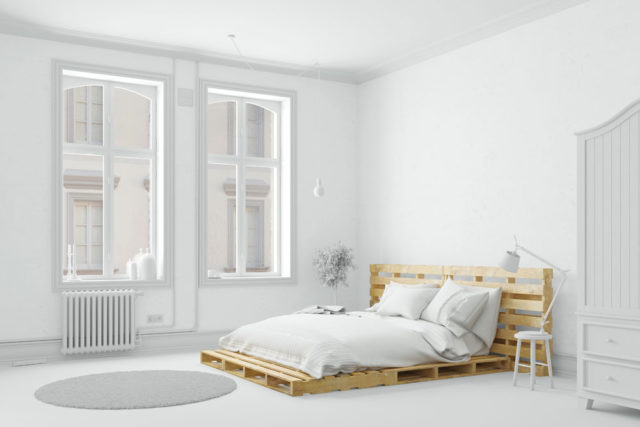 Bett aus Europaletten bauen - Anleitung & Tipps ...
