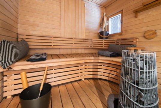 Sauna reinigen und pflegen