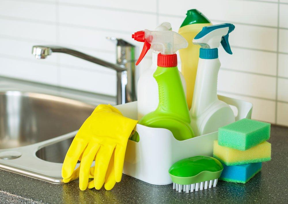 Schimmel entfernen - Reinigungsmittel