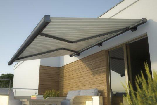 Sonnenschutz Haus