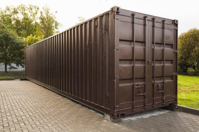 Seecontainer im Garten: Upcycling-Ideen