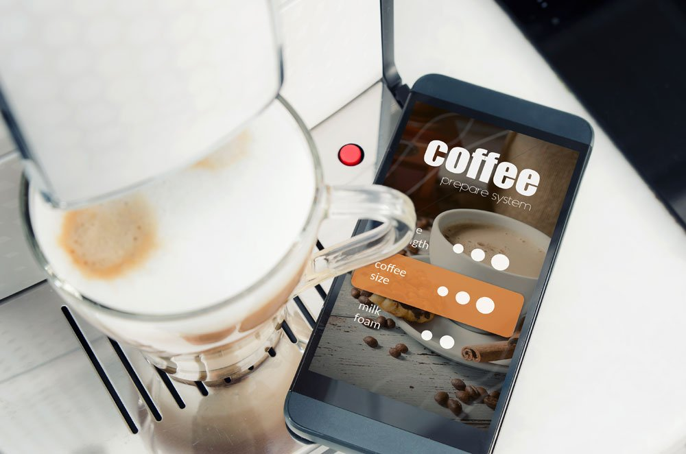 Smart Home Kaffeemaschine