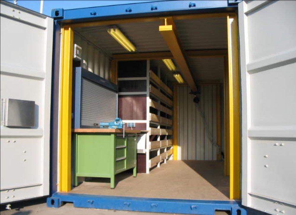 Werkstattcontainer