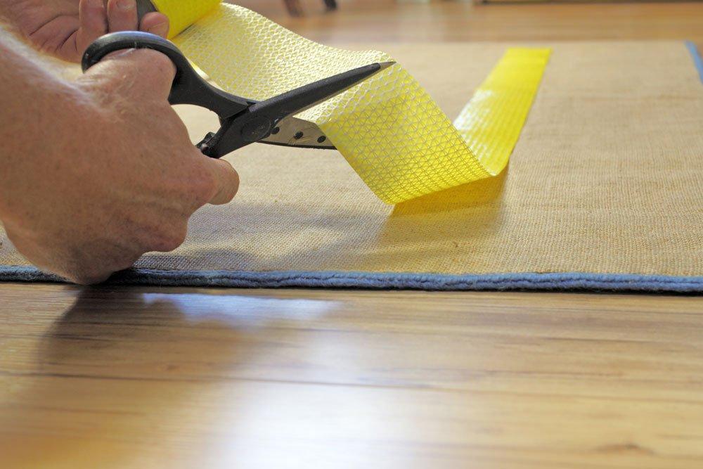 Verlegeband für den Teppich