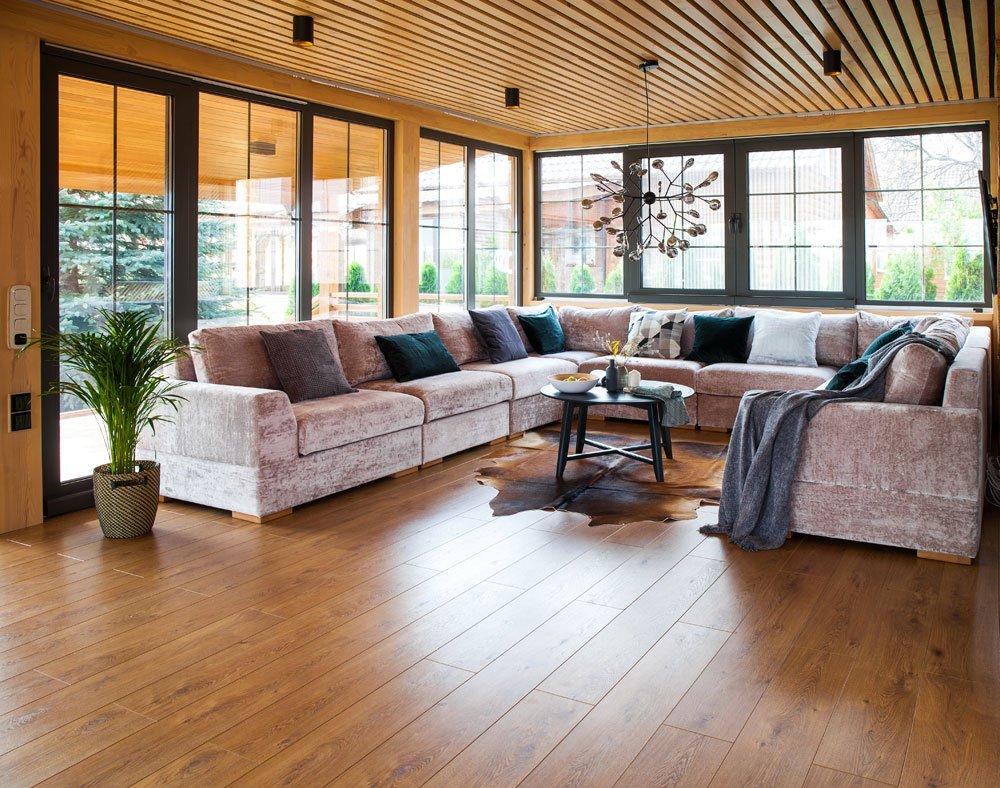 Lounge im Poolhaus
